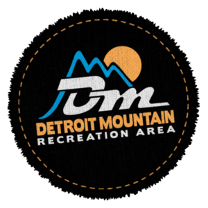 Detroit Mountain logo patch